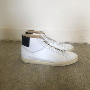 Common projects men's white sneakers 41 / 8.5